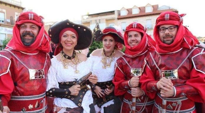 Herencia estuvo presente en Moros y Cristianos de Alcázar de San Juan