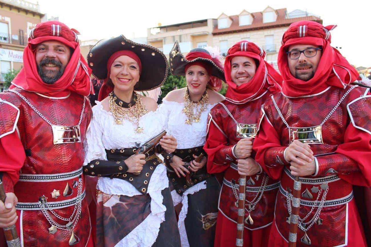 fiestas moros y cristianos alcazar de san juan - Herencia estuvo presente en Moros y Cristianos de Alcázar de San Juan