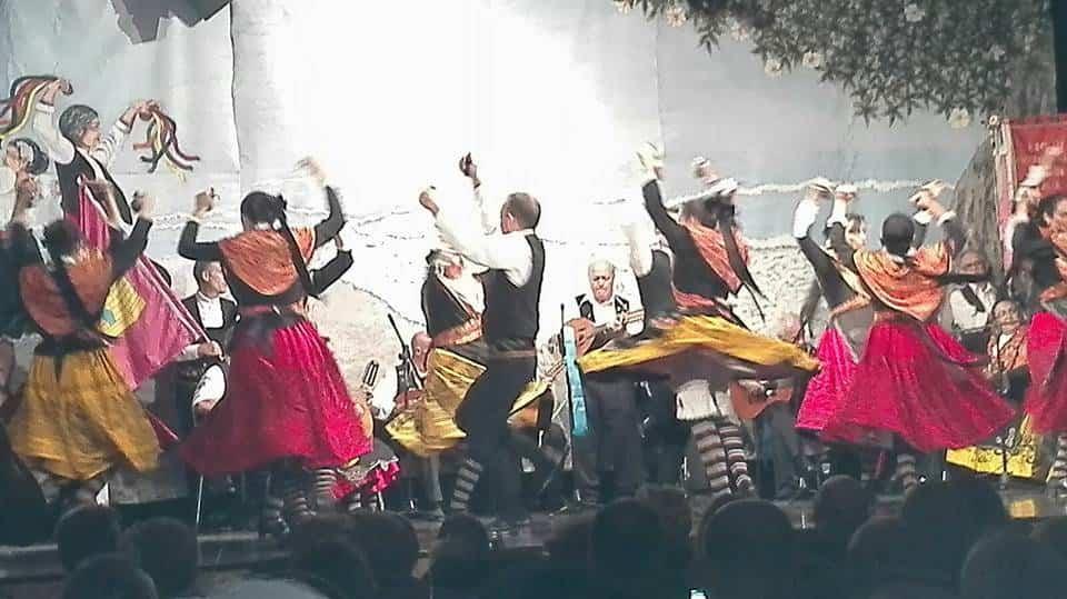 grupo folklorico Herencia - El grupo folklórico Herencia bailará en Murcia