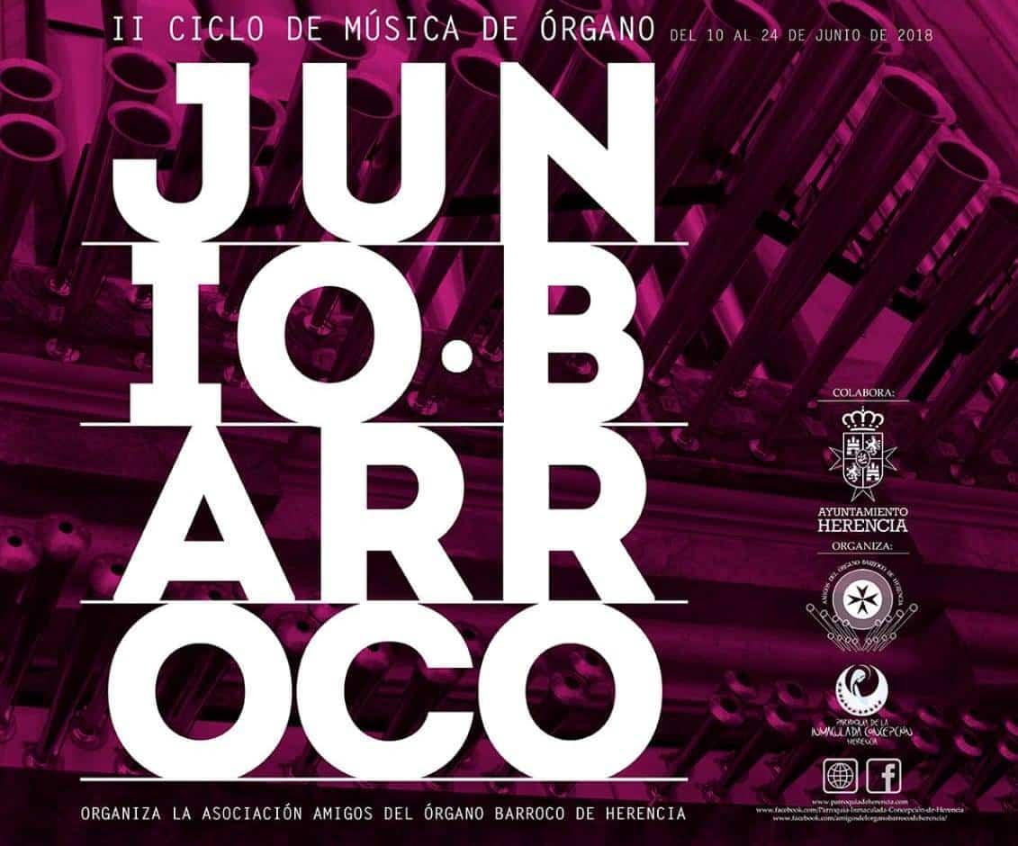 junio barroco herencia 1 - Herencia celebra San Juan con varios conciertos de órgano barroco