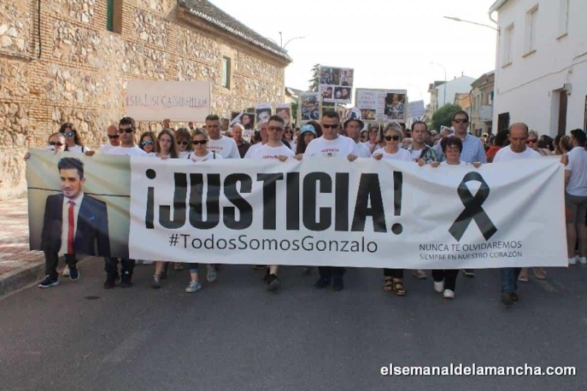 manifestacion justicia por gonzalo herencia - Herencia sale de nuevo a la calle para reclamar Justicia por Gonzalo