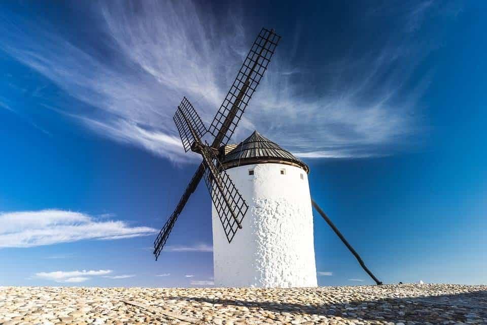 molino de viento criptana - Herencia, lugar de La Mancha cuyo pueblo siempre querrá recordar a Cervantes