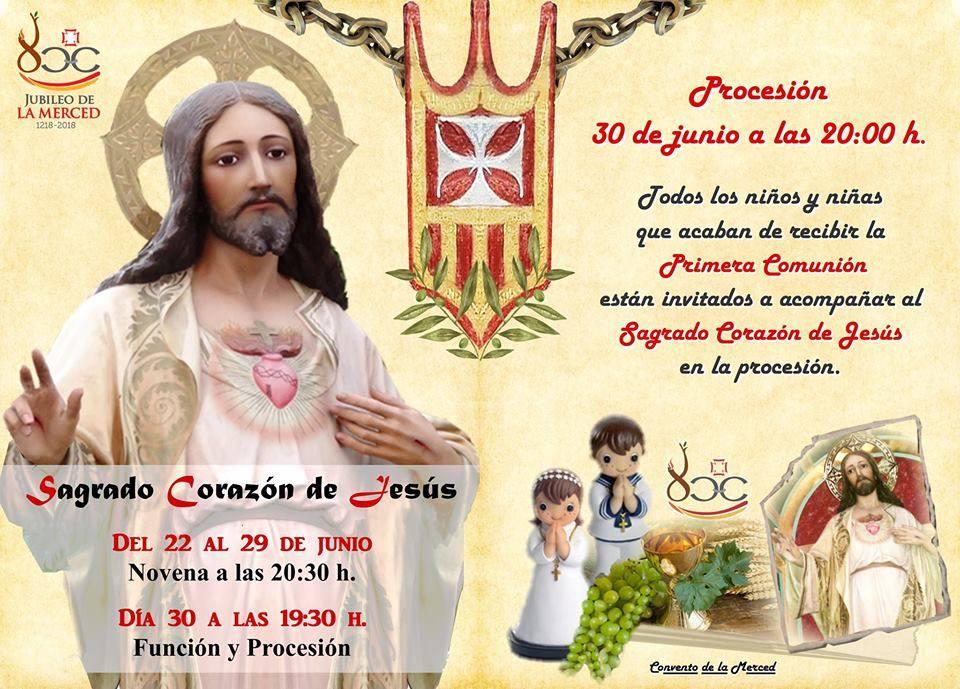 novena y procesión del sagrado Corazón de Jesús de Herencia - Novena y procesión del Sagrado Corazón de Jesús