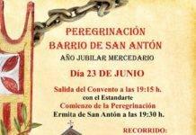 Peregrinación jubilar mercedaria del barrio de San Antón