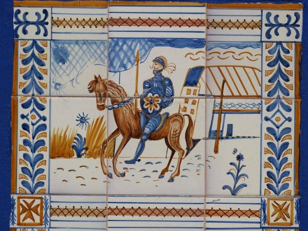 placa ceramica quijote 1068x801 - Herencia, lugar de La Mancha cuyo pueblo siempre querrá recordar a Cervantes