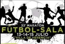 """Comienza el 33 Maratón de Fútbol Sala """"Villa de Herencia"""""""