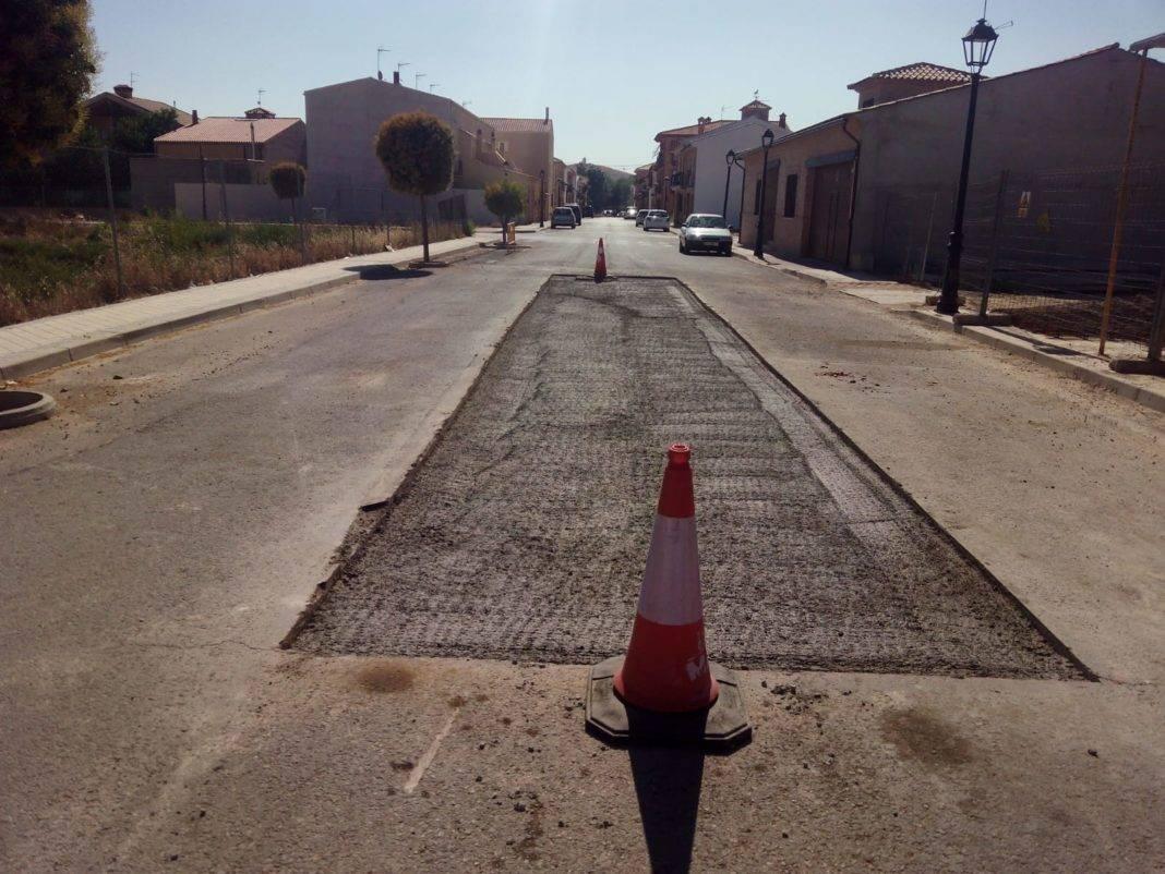 Asfaltado de calles para solucionar problemas de hundimientos y levantamientos 5