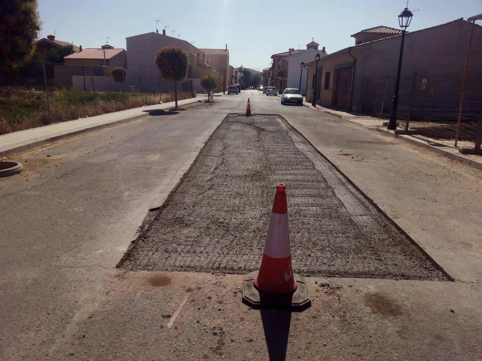 Asfaltado de calles para solucionar problemas de hundimientos y levantamientos 1