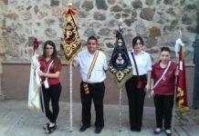 Los Siete Pasos acompañan a la Procesión de la Virgen del Carmen en Herencia