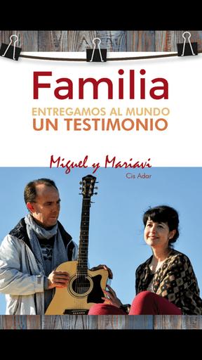 """Cis Adar Miguel y Mariavi - Cis Adar lanza su disco """"Familia"""" en todas las plataformas digitales"""