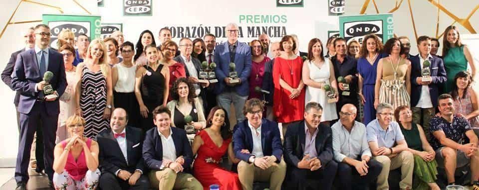 """DescargarImagen - Las Supernenas recogieron su premio de la  XXVI Edición """"Corazón de la Mancha"""""""