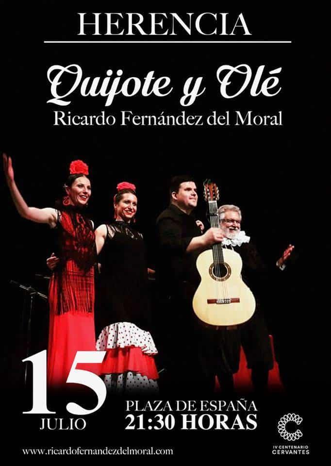 """DhaG8zAXcAAisgm.jpg large - Ricardo Fernández del Moral llega a Herencia con su """"Quijote y olé"""""""