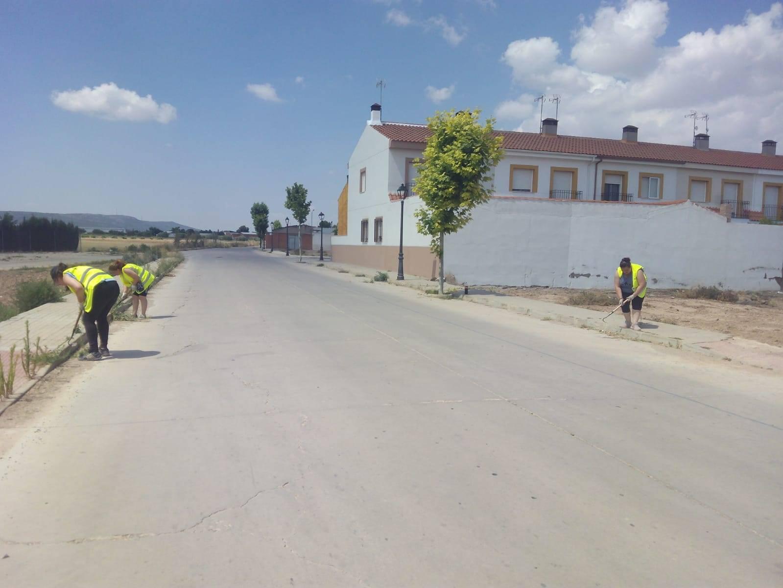 El Ayuntamiento intensifica la limpieza de calles y zonas verdes 6