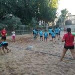 Comienzo de la tercera edición de la Escuela de Balonmano Playa 2