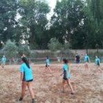 Comienzo de la tercera edición de la Escuela de Balonmano Playa 4