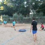 Comienzo de la tercera edición de la Escuela de Balonmano Playa 5