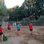 Comienzo de la tercera edición de la Escuela de Balonmano Playa 7