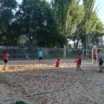 Comienzo de la tercera edición de la Escuela de Balonmano Playa 9
