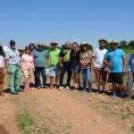 Herencianos en el Curso de Agrilcultura Sostenible visitando la finca Ekotania 3