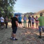Herencianos en el Curso de Agrilcultura Sostenible visitando la finca Ekotania 1