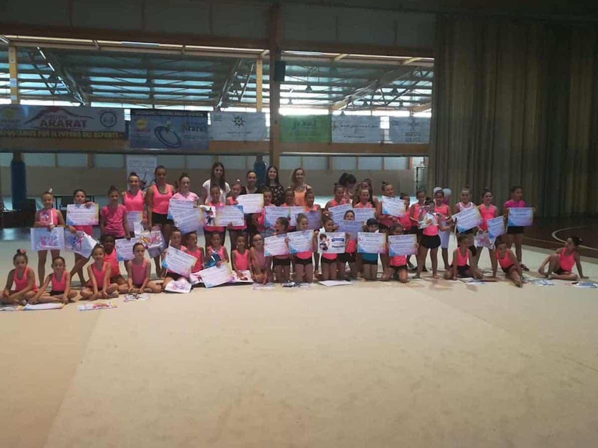 II Clinic de Gimnasia Ritmica Herencia - Celebrado el II Clinic de Gimnasia Rítmica en Herencia