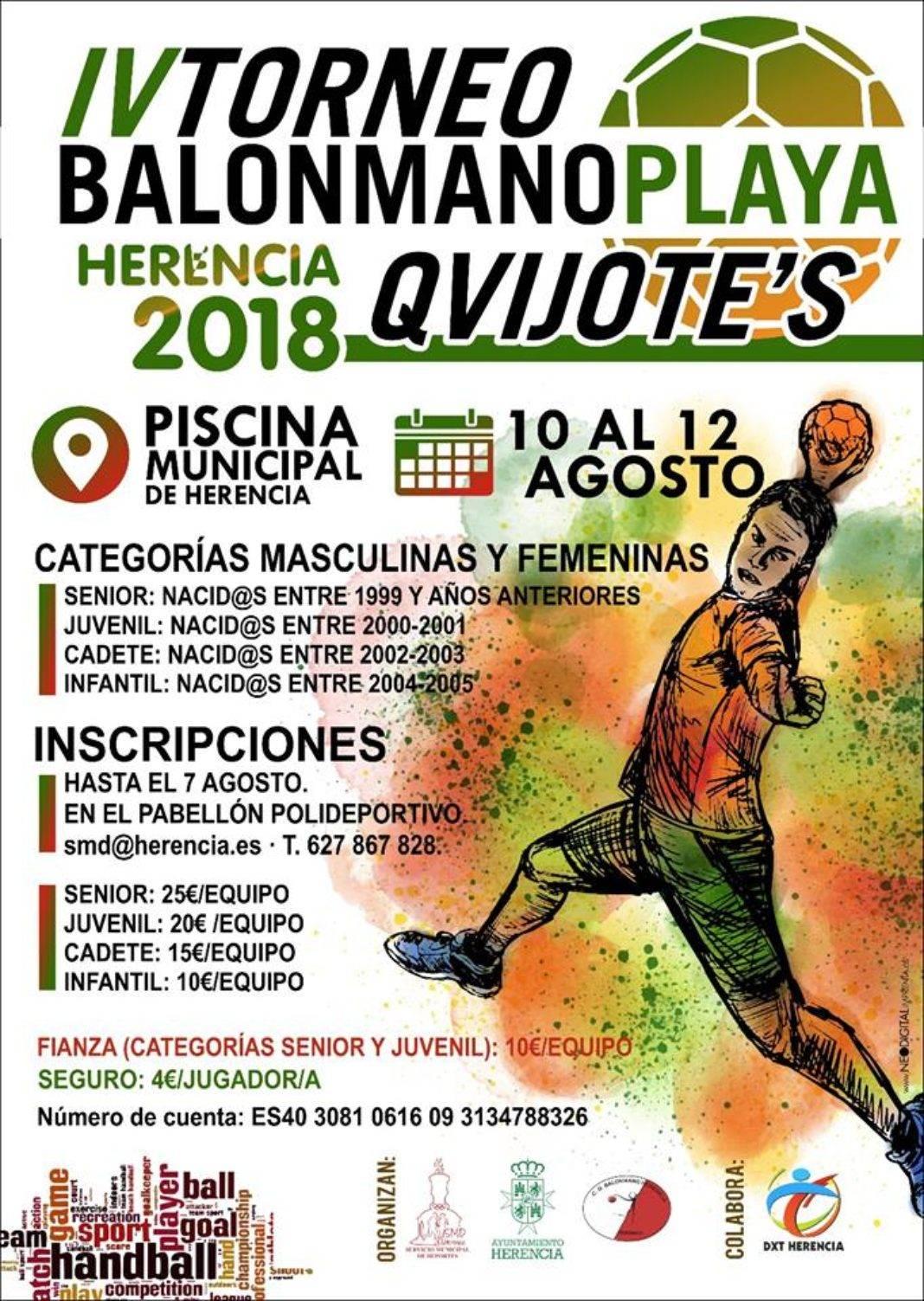 IV Torneo de Balonmano Playa de Herencia 1068x1503 - IV Torneo de balonmano playa de Herencia