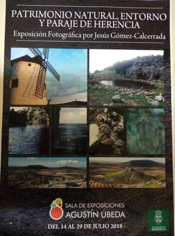 Patrimonio natural entorno y paraje de Herencia de la mano de Jesus Gomez 0014 342x460 - Inauguración de la exposición Patrimonio natural, entorno y paraje de Herencia