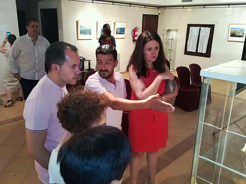 Inauguración de la exposición Patrimonio natural, entorno y paraje de Herencia 3