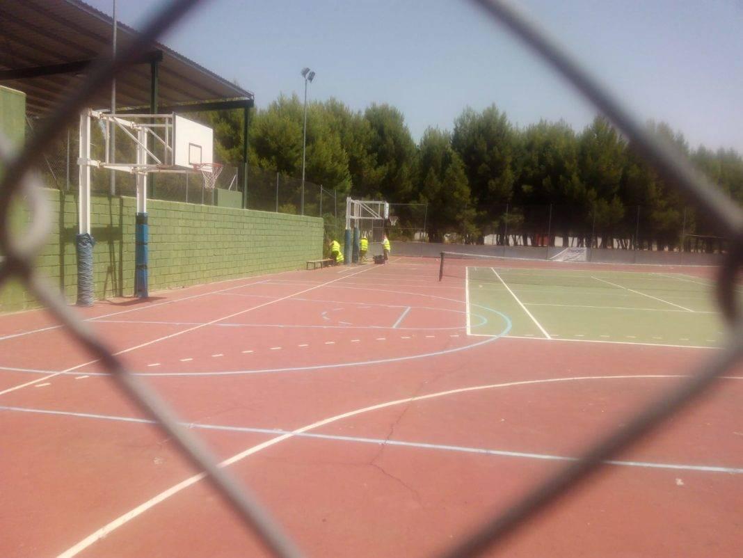 Plan de Mantenimiento de Infraestructuras Deportivas 2 1068x802 - Herencia cumple con el Plan de Mantenimiento de Infraestructuras Deportivas