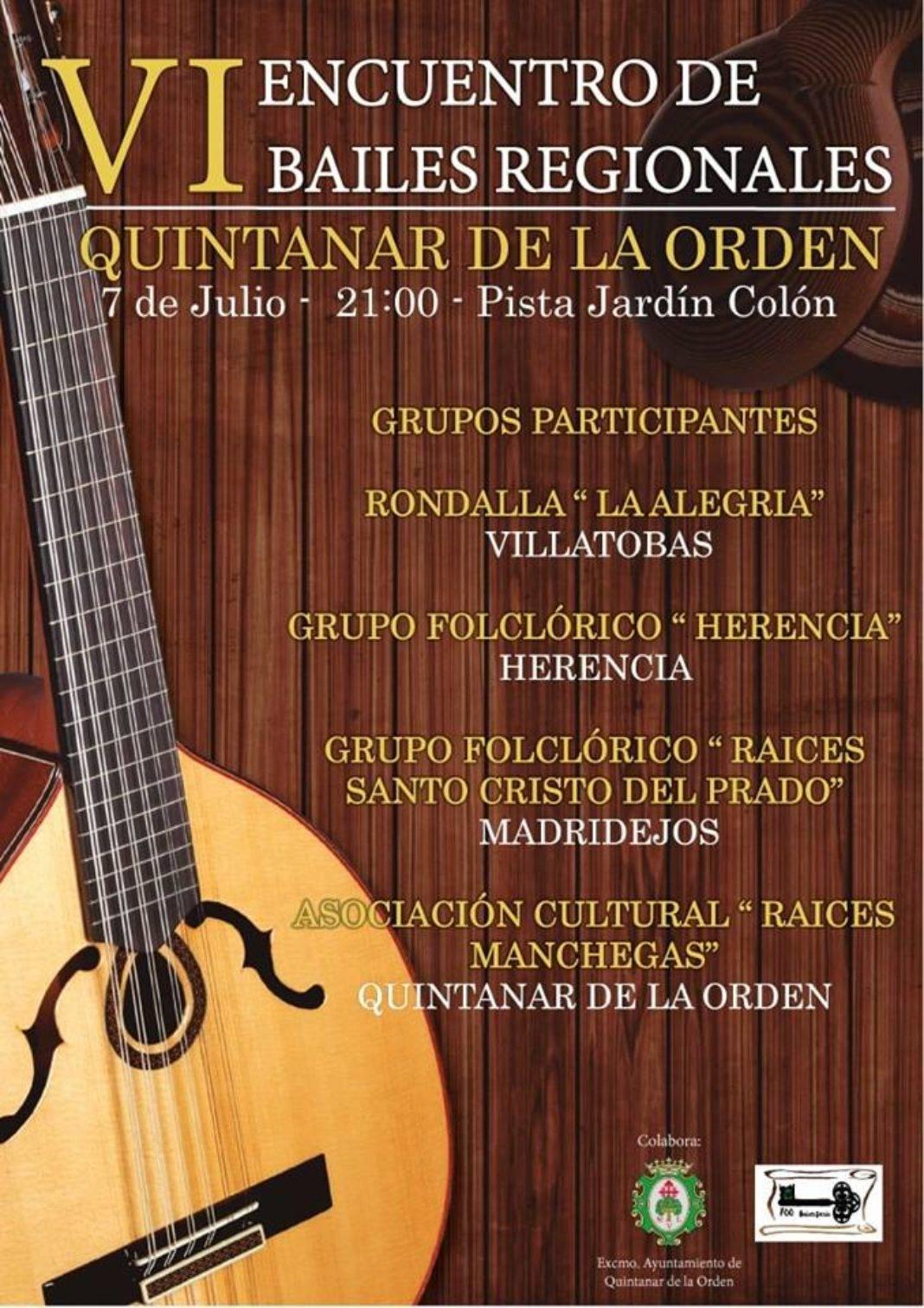 """El grupo folclórico """"Herencia"""" participa del VI Encuentro de bailes Regionales de Quintanar de la Orden 2"""