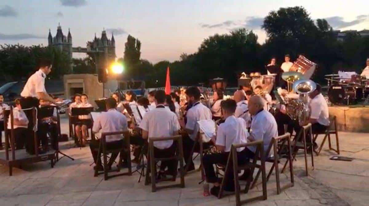 agrupacion musical herencia en festival nacional bandas torrejon - I Festival Nacional de Bandas de Música de Torrejón de Ardoz contó con presencia herenciana