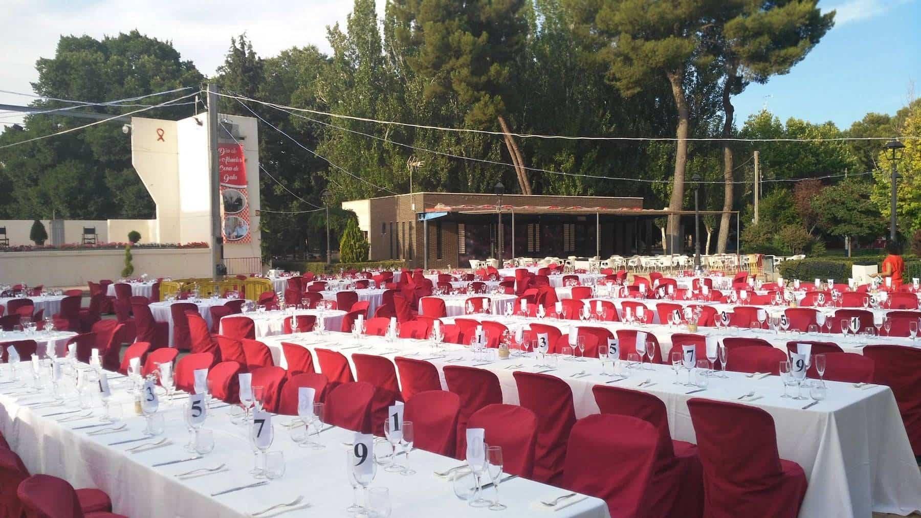 Todo listo para la II Cena de Gala co motivo del Día de los Abuelos 2