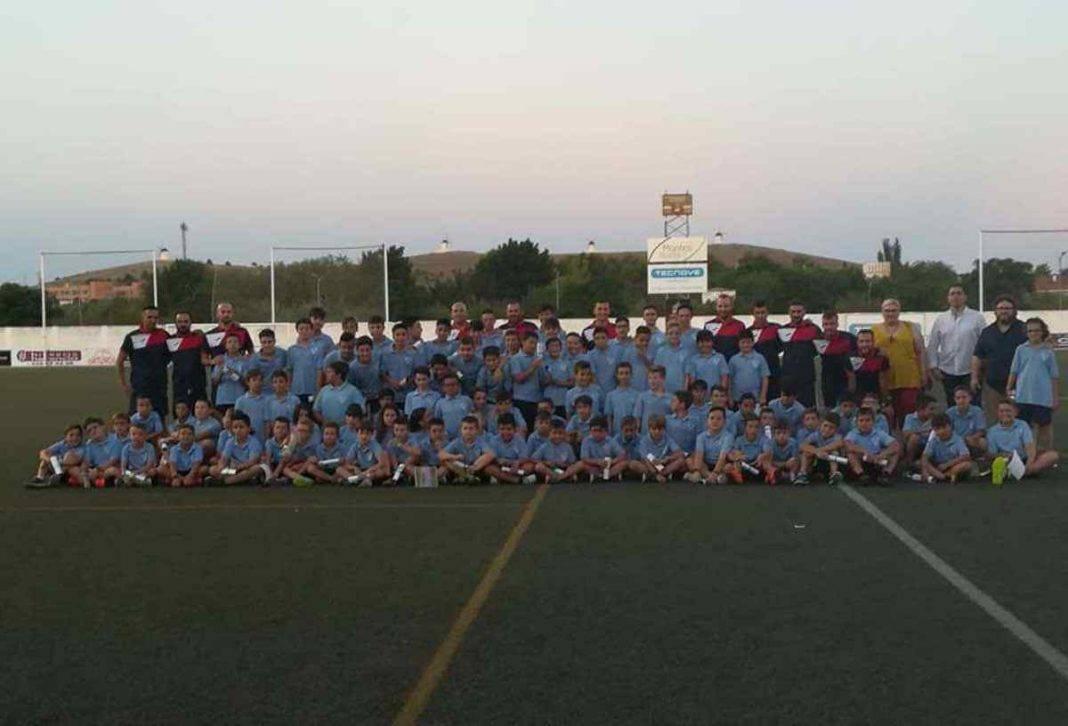 Clausura del V Campus de Fútbol en Herencia 10