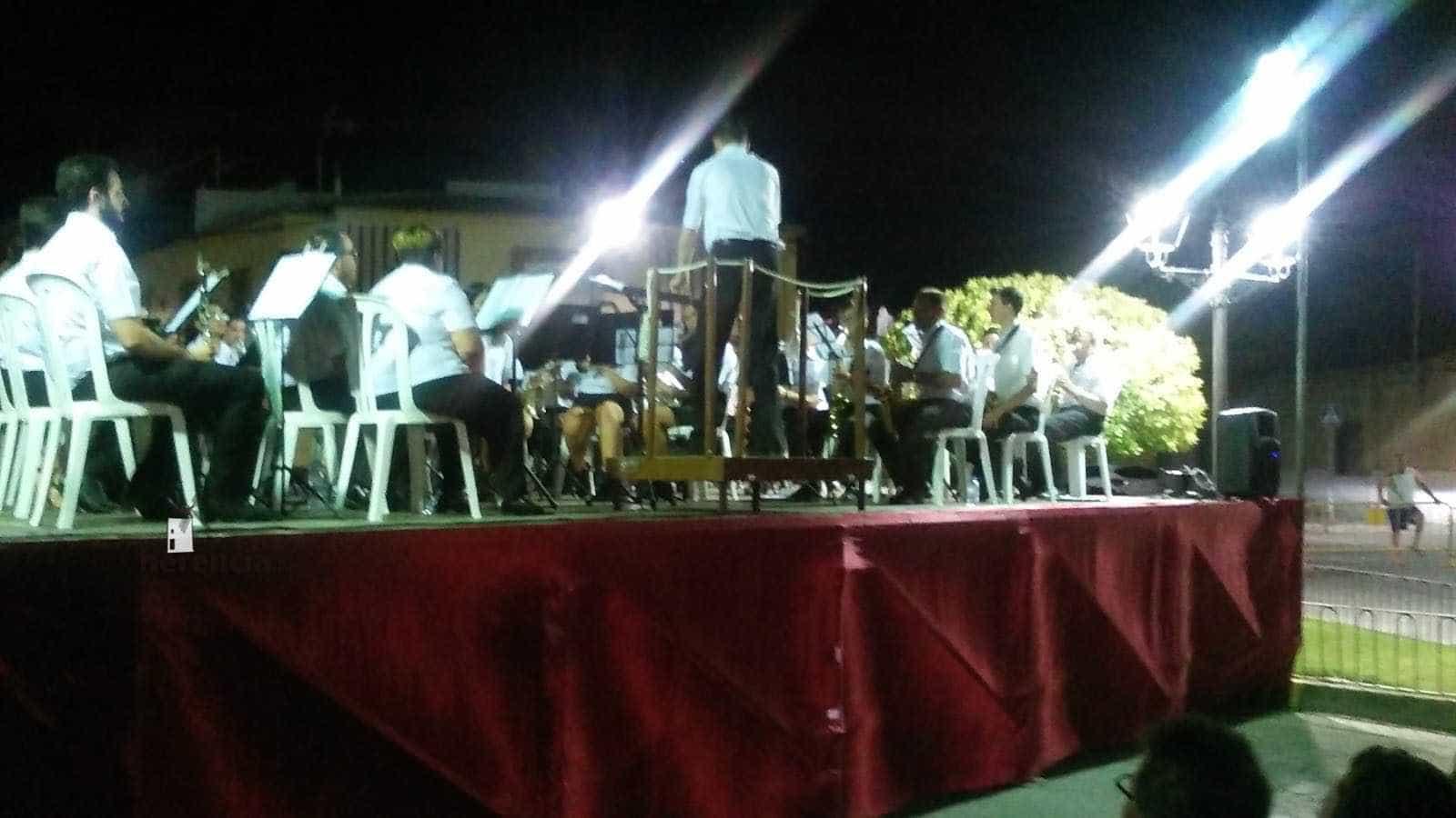 Viso del Marqués y Herencia se unen en el Encuentro de Bandas del Barrio del Cristo 3
