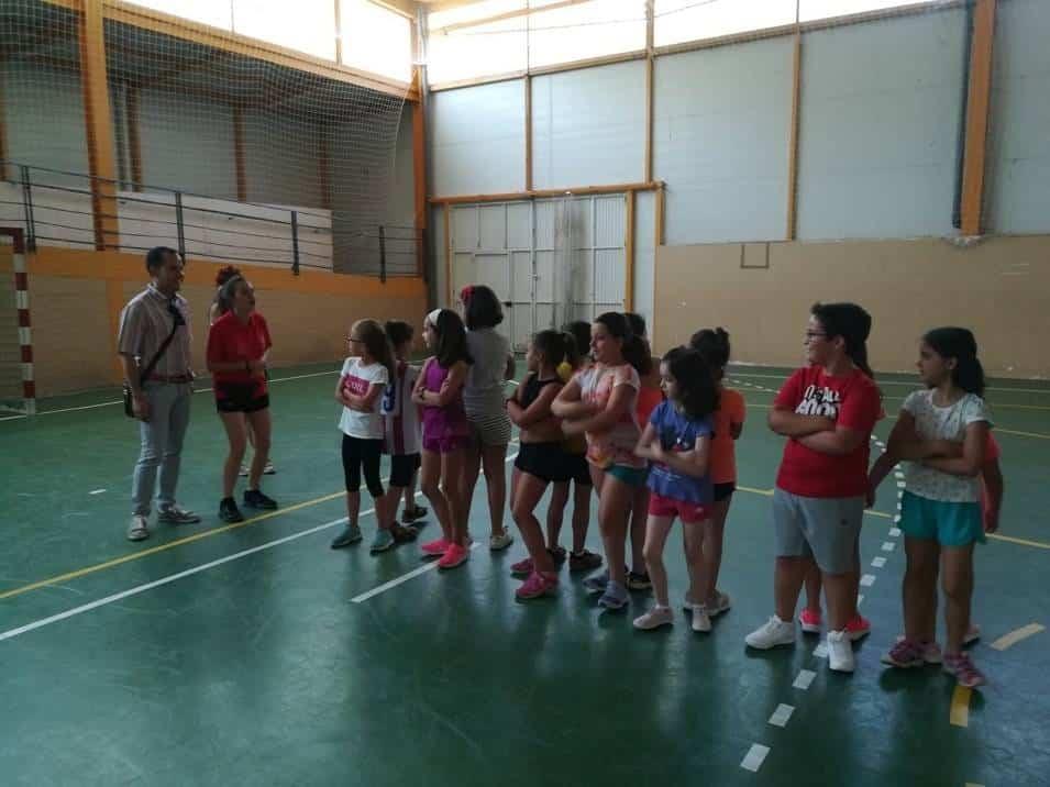 Los más pequeños de Herencia comienzan las actividades de la Escuela de Verano 1