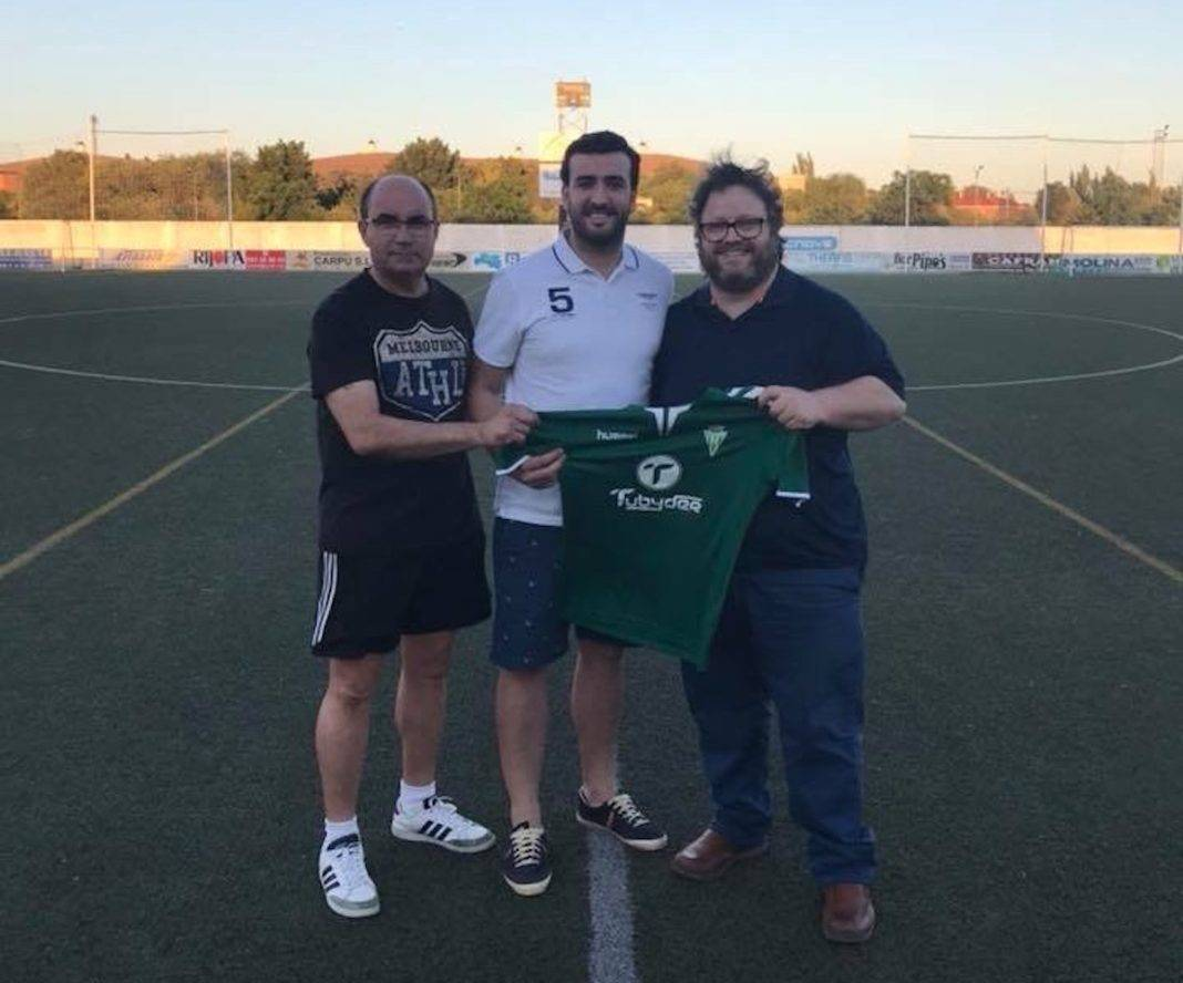 Luis Alfonso Céspedes García un delantero nuevo en el Herencia C.F. 4