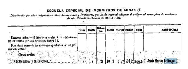 """jesus martin buitrago 2 - """"Un herenciano catedrático en la Escuela de Ingenieros de Madrid"""""""
