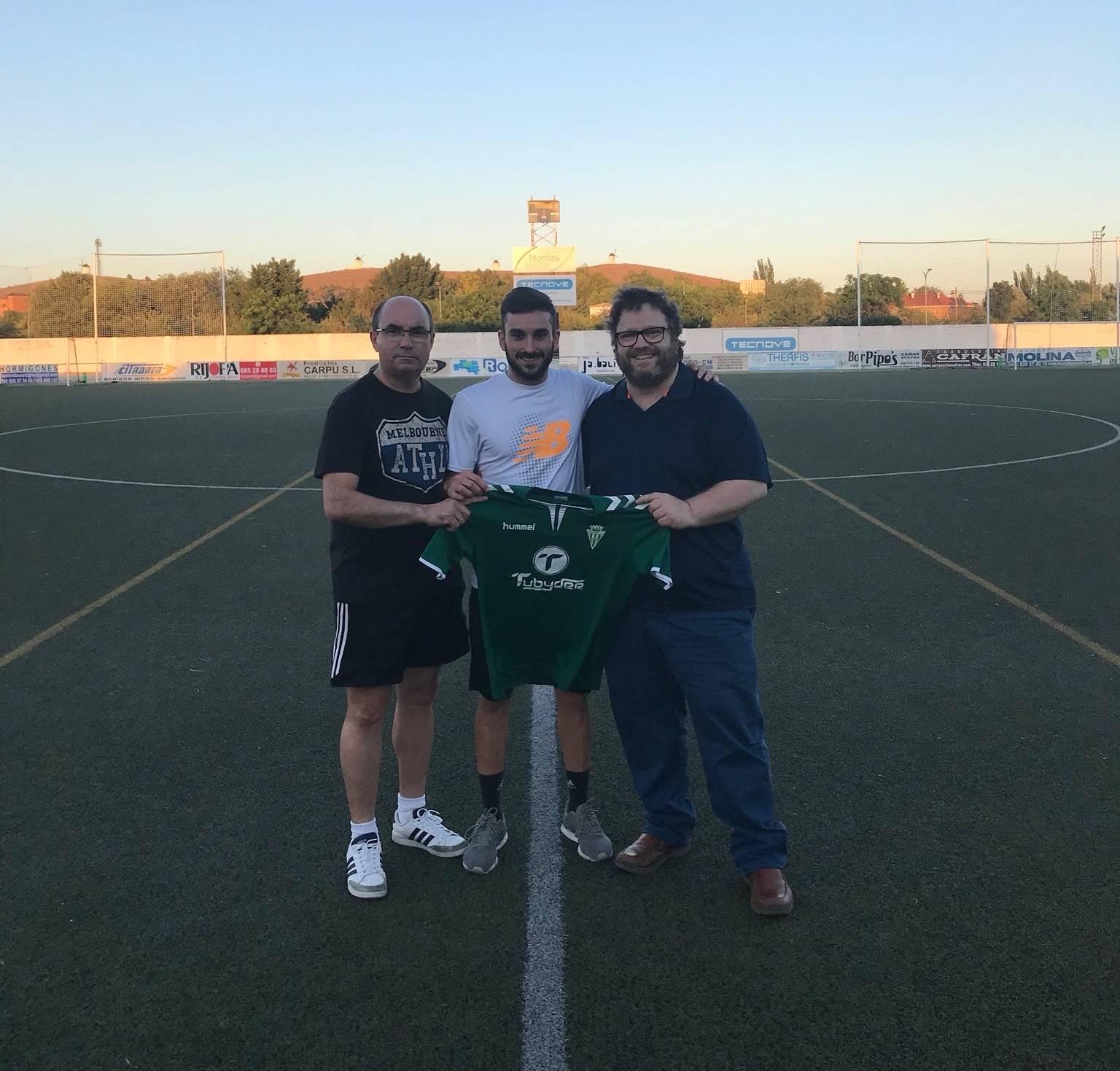 jose romero renovado herencia futbol cf - Herencia C.F. renueva por 5ª temporada a José Romero