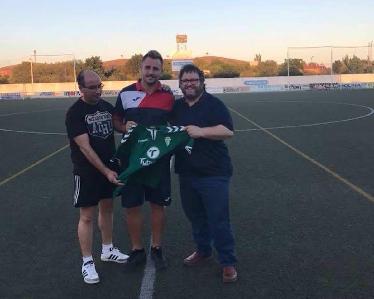 josu jimenez renueva herencia futbol - Josu Jiménez renueva como portero del primer equipo Herencia C.F.