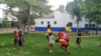 miniolimpiadas 2018 escuela verano herencia 1 342x192 - Celebradas las Miniolimpiadas de la Escuela de Verano de Herencia