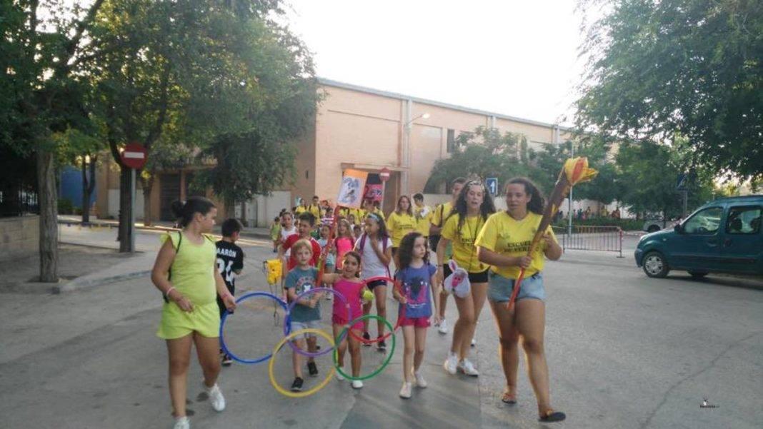 Celebradas las Miniolimpiadas de la Escuela de Verano de Herencia 39