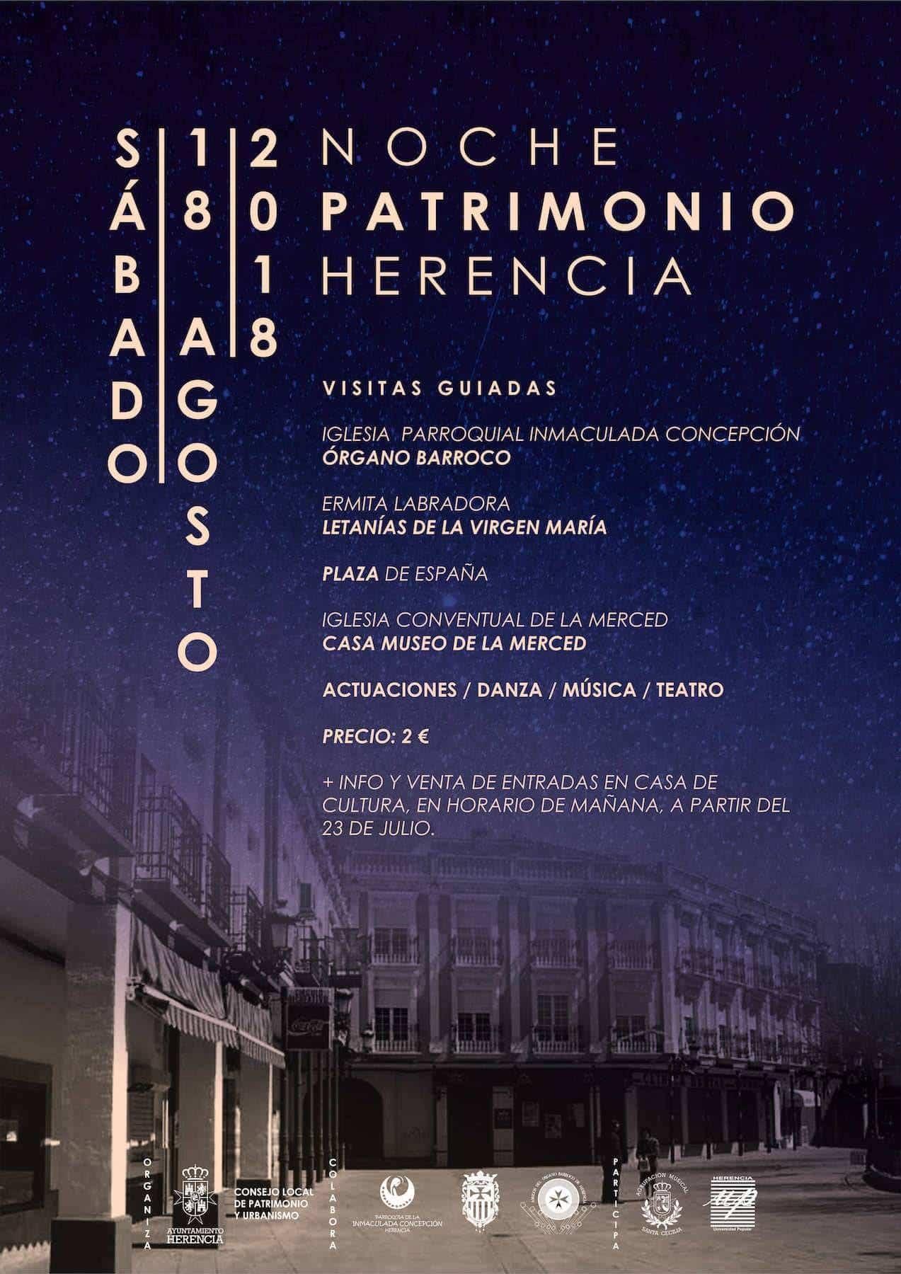 noche patrimonio herencia ciudad real - Herencia apuesta por el turismo con la celebración de la Noche del Patrimonio