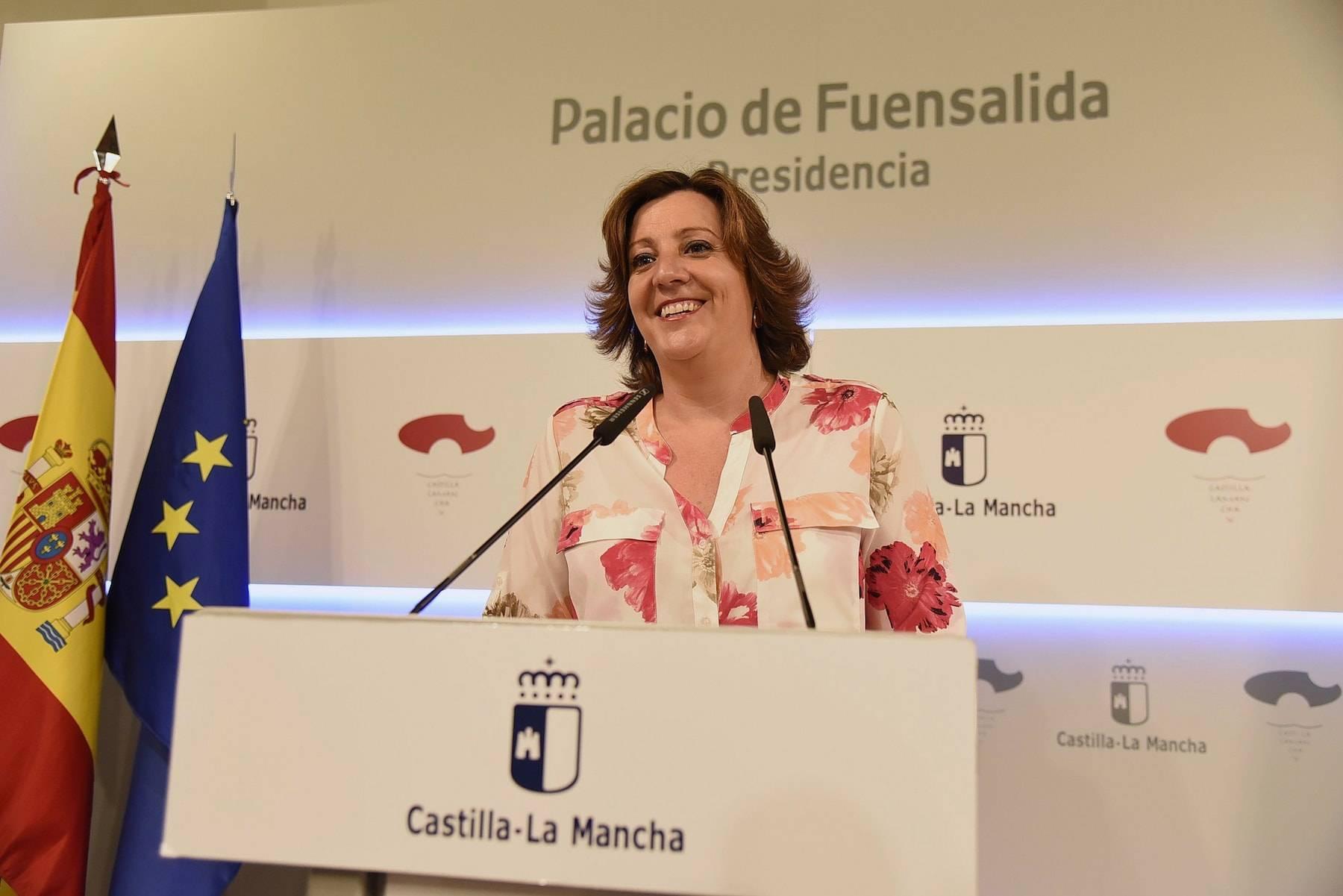 patricia franco dinamismo empresarial clm - Castilla-La Mancha a la cabeza del país en dinamismo empresarial