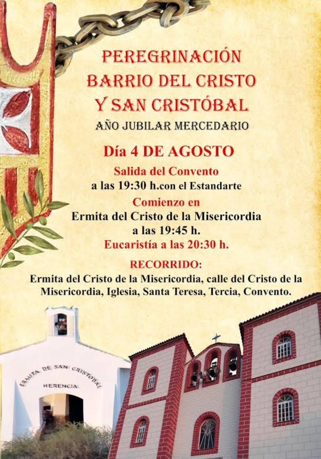 peregrinacion barrio del Cristo y San Cristobal de herencia 1068x1524 - Peregrinación jubilar del barrio del Cristo y San Cristóbal