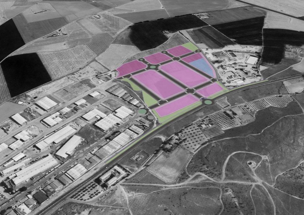 plano ampliacion poligono industrial herencial 1068x755 - Corte de suministro de agua en el polígono el lunes 19 de agosto