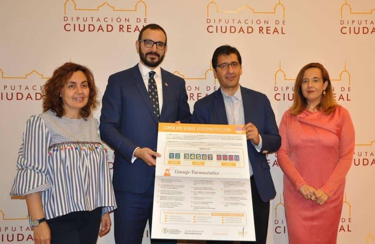Campaña para prevenir los efectos nocivos del sol en la región 5