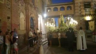 procesion virgen del carmen herencia 2 319x180 - Los Siete Pasos acompañan a la Procesión de la Virgen del Carmen en Herencia