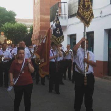 procesion virgen del carmen herencia 364x364 - Los Siete Pasos acompañan a la Procesión de la Virgen del Carmen en Herencia