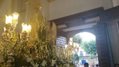procesion virgen del carmen herencia 4 390x220 - Los Siete Pasos acompañan a la Procesión de la Virgen del Carmen en Herencia