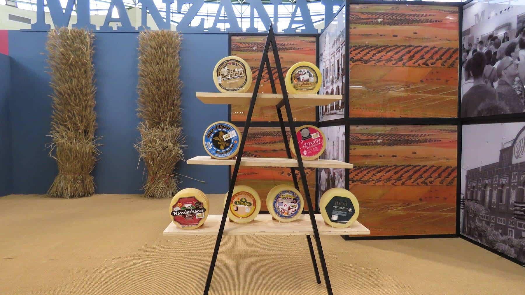 Los quesos manchegos herencianos premiados en Fercam, los mejores entre los mejores 5